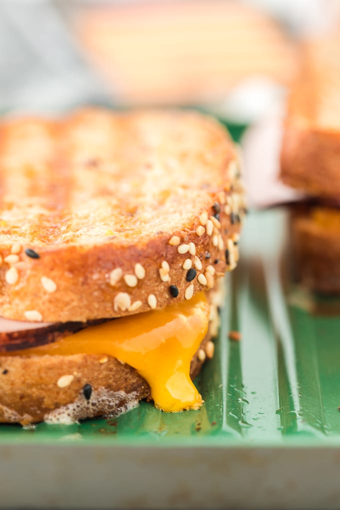 Easy Grilled Ham and Cheese Sandwich