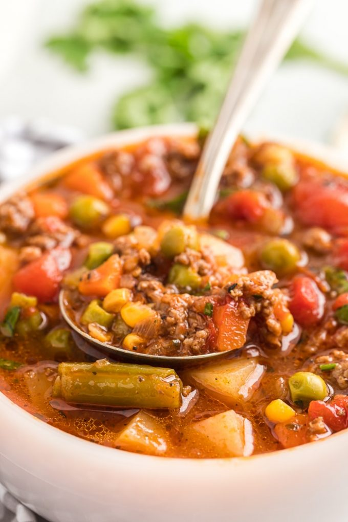 Favorite Easy Hamburger Soup