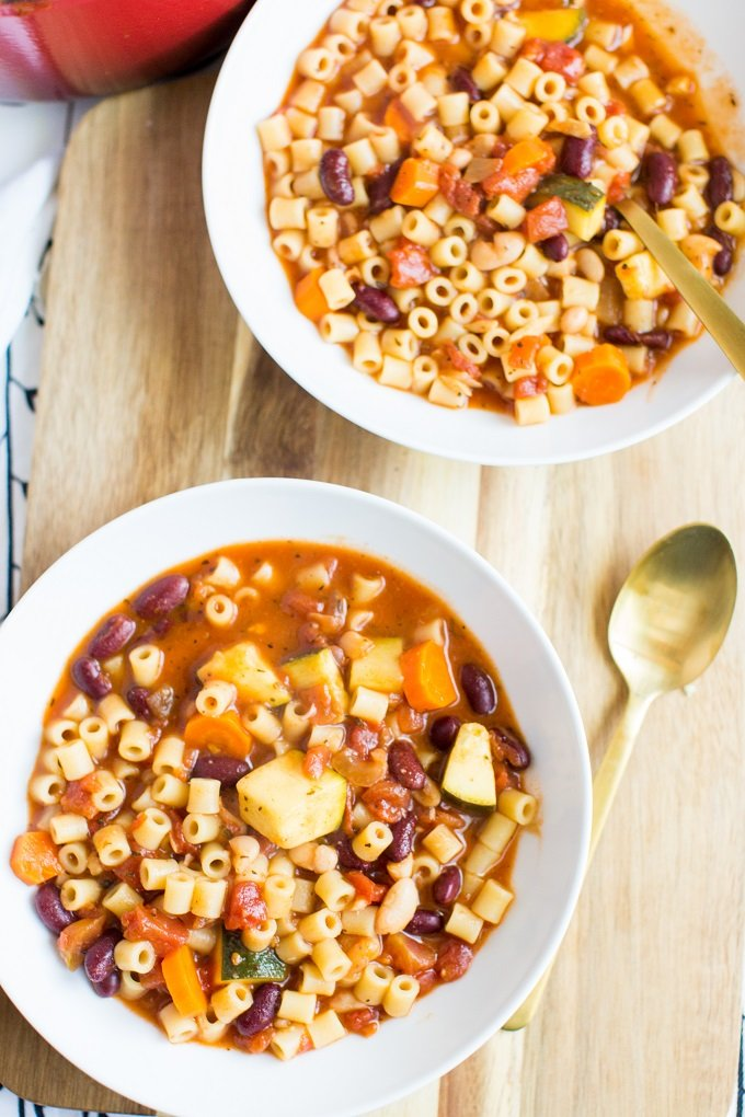 Favorite Minestrone Soup