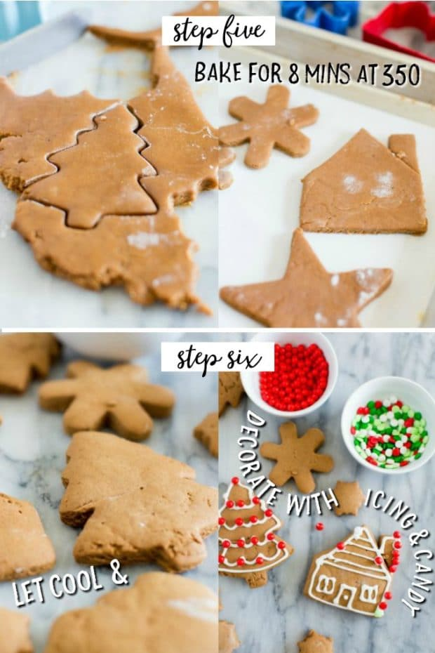 A piece of food, with Cookie and Gingerbread