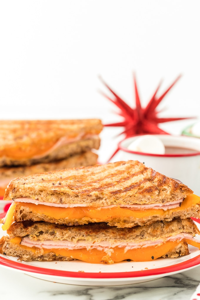 Hearty Ham and Cheese Grilled Sandwich
