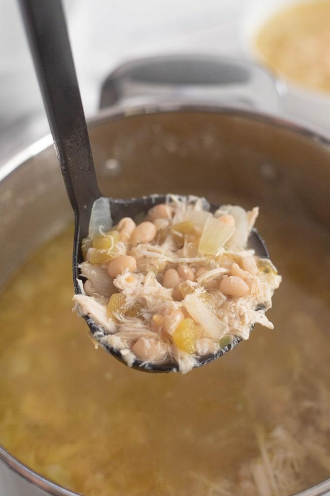 Homemade White Bean Chicken Chili Recipe