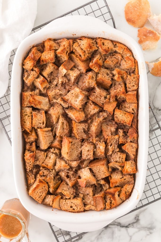How to Bake Bread Pudding