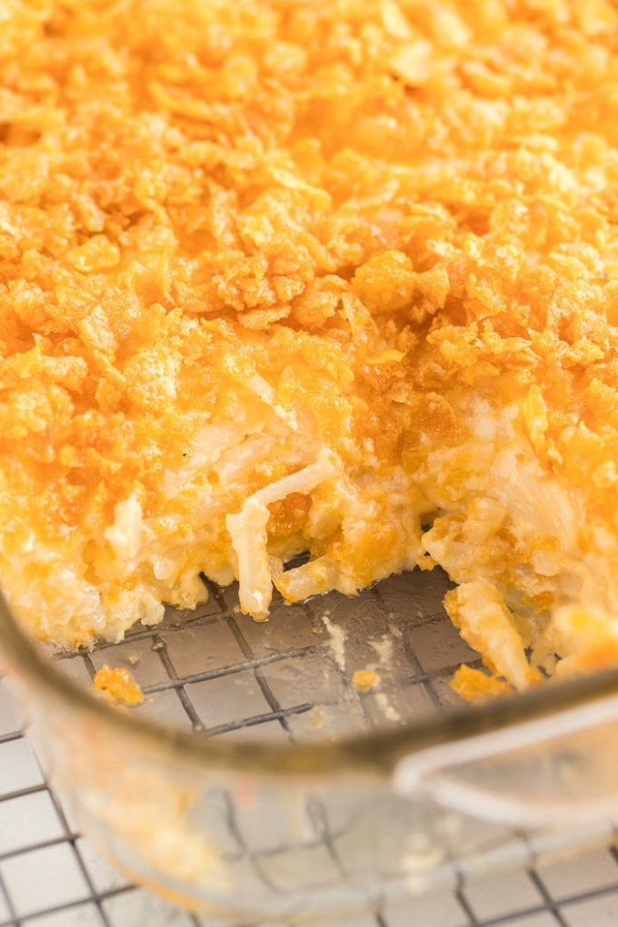 How to Bake Cheesy Potato Casserole