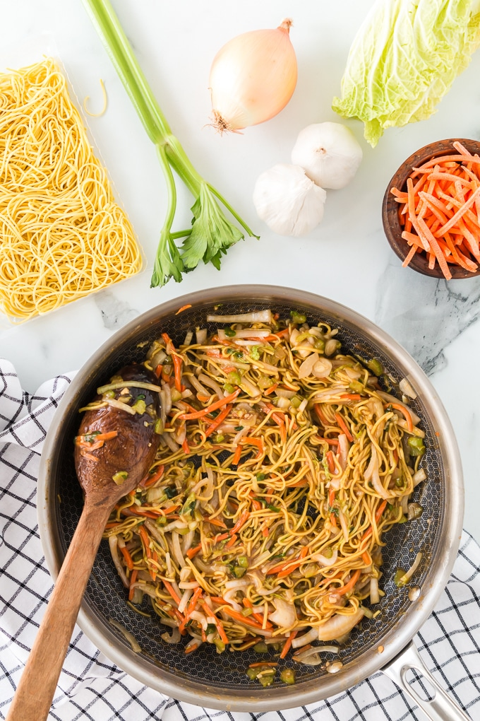 How to Cook Chow Mein