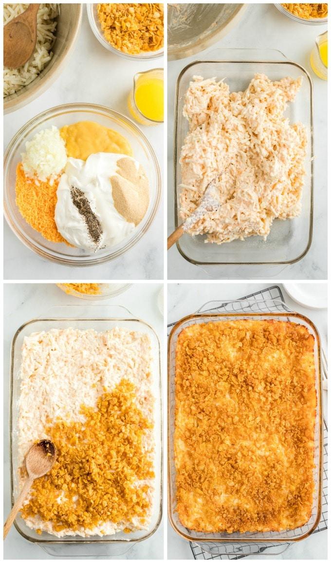 How to Make Cheesy Potato Casserole