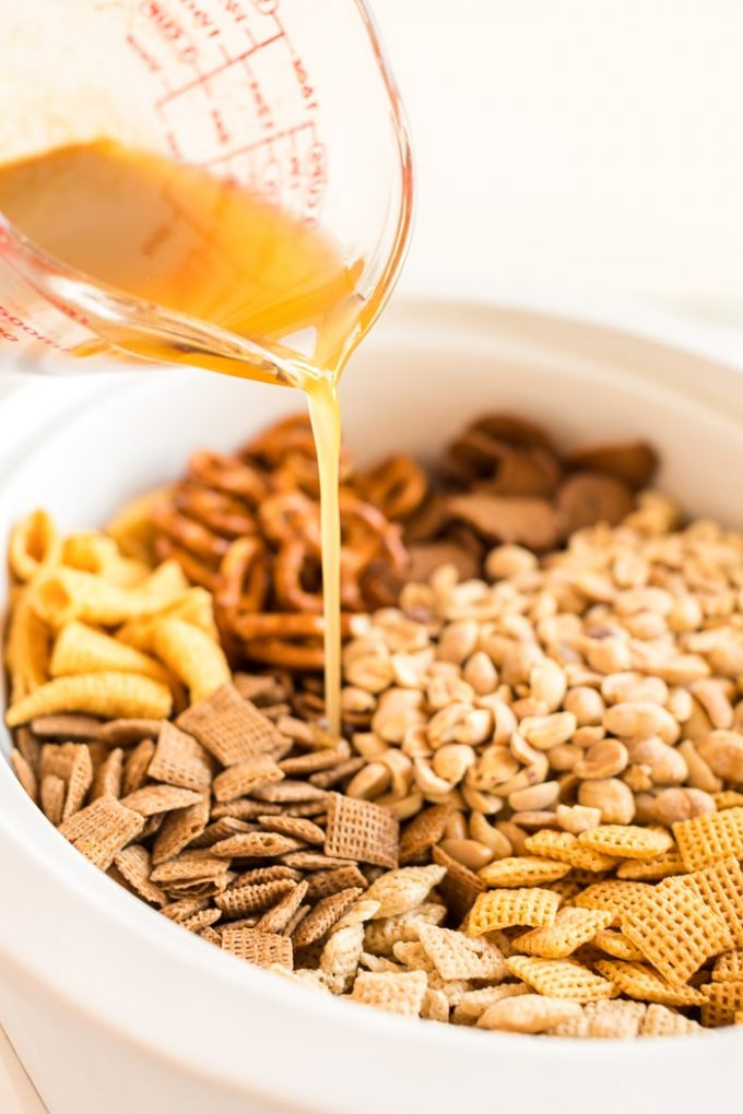 How to Make Slow Cooker Chex Mix