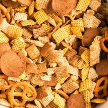 Slow Cooker Chex Mix Featured