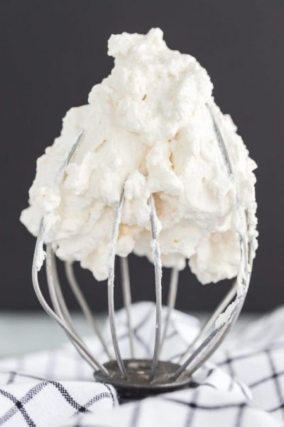 Stabilized Whipped Cream Featured