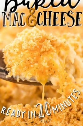 baked mac and cheese pinterest