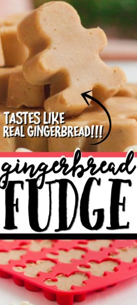 Gingerbread Fudge Pinterest