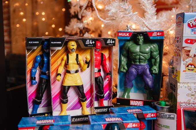 Action Figures for Christmas