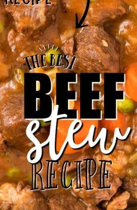 beef stew recipe pinterest