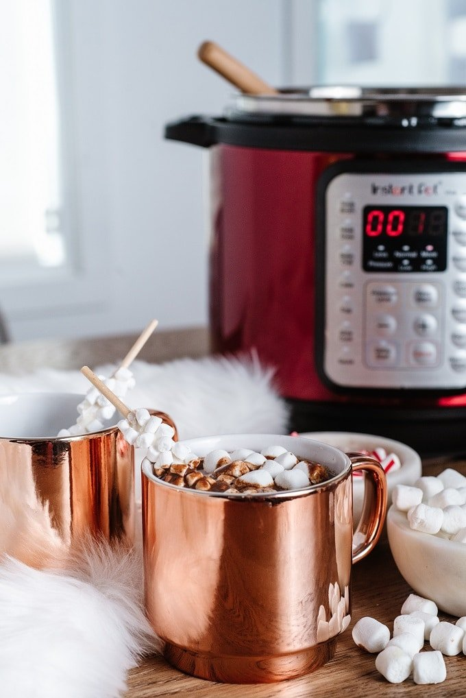 Best Instant Pot Hot Chocolate