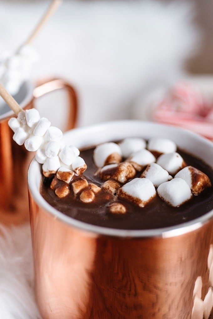 Creamy Instant Pot Hot Chocolate