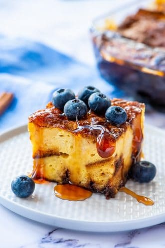 Homemade French Toast Casserole Featured