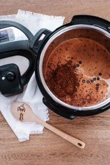 Instant Pot Hot Chocolate Featured