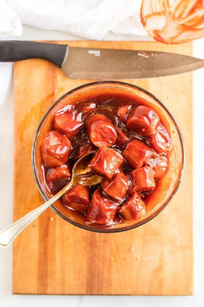 Simple Sausage Bites Recipe
