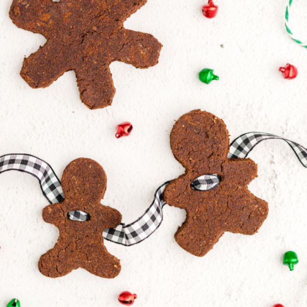 cinnamon ornaments decorated for christmas