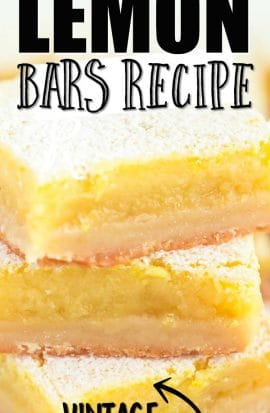 lemon bars in a stack