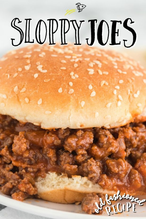 sloppy joe sandwich close up