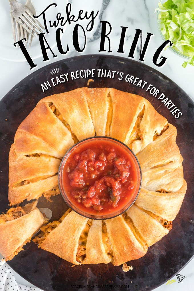 Turkey Taco Ring