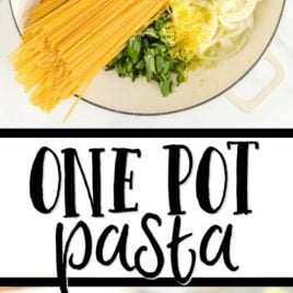 one pot pasta pinterest