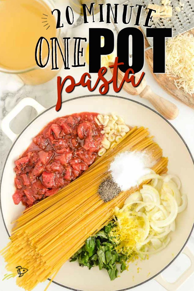 A plate of food, with Pasta and Minute