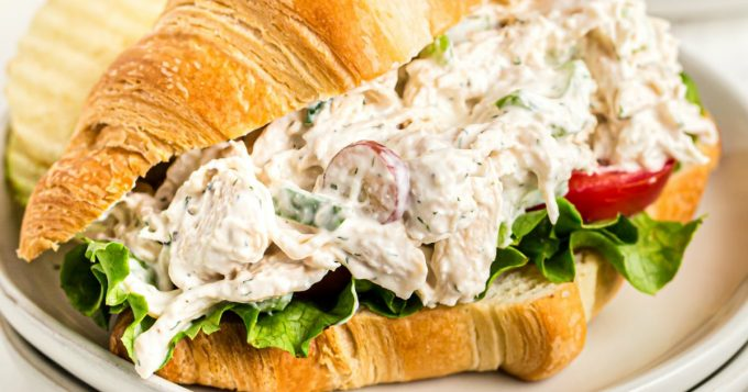 The Ultimate Chicken Salad Sandwich Recipe