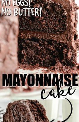 MAYO CAKE SLICE