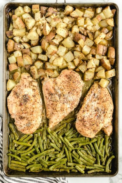 chicken sheet pan dinner