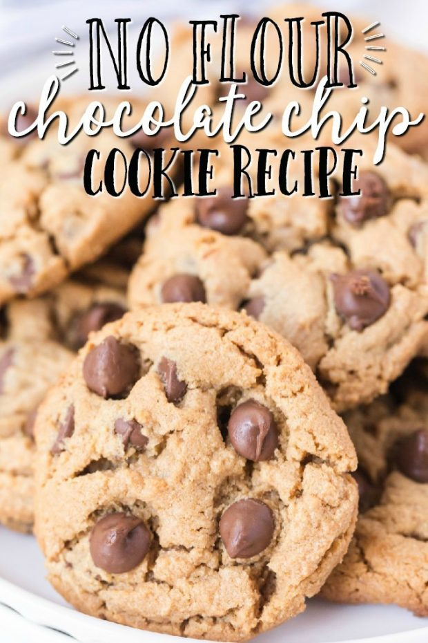 plate of gluten-free chocolate chip cookies