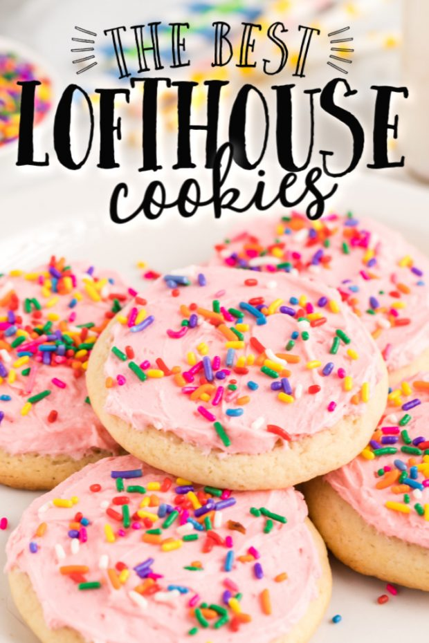 lofthouse cookies on plate