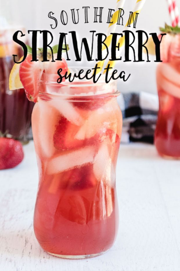 Strawberry and Sweet tea
