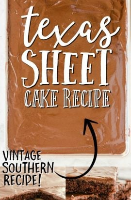 texas sheet cake images