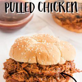 bbq pulled chicken sandwich