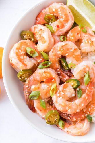 Easy Spicy Garlic Shrimp