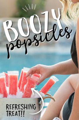 Boozy Popsicles