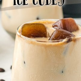 Baileys and Coffee Ice Cubes