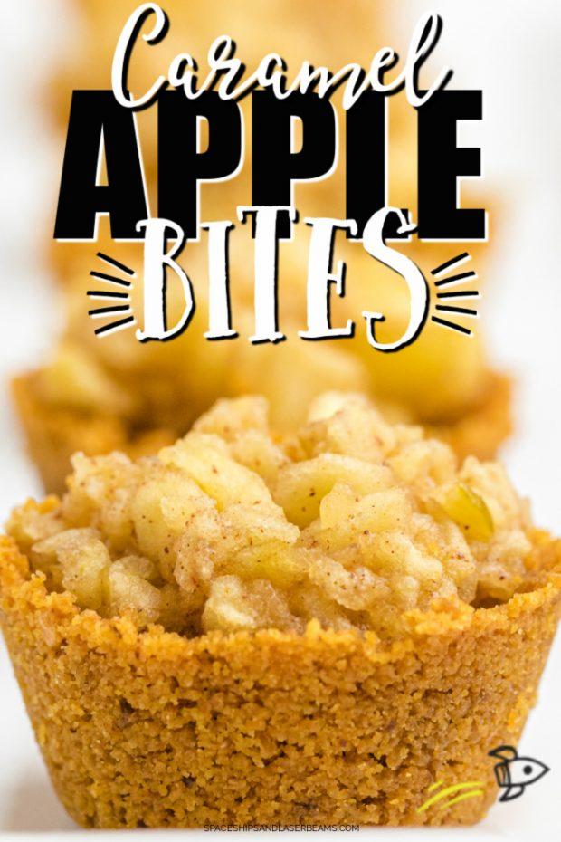 A close up of food, with Apple crisp