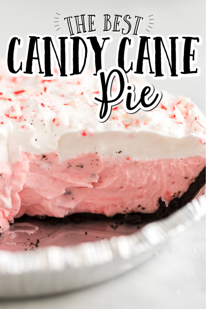 candy cane pie