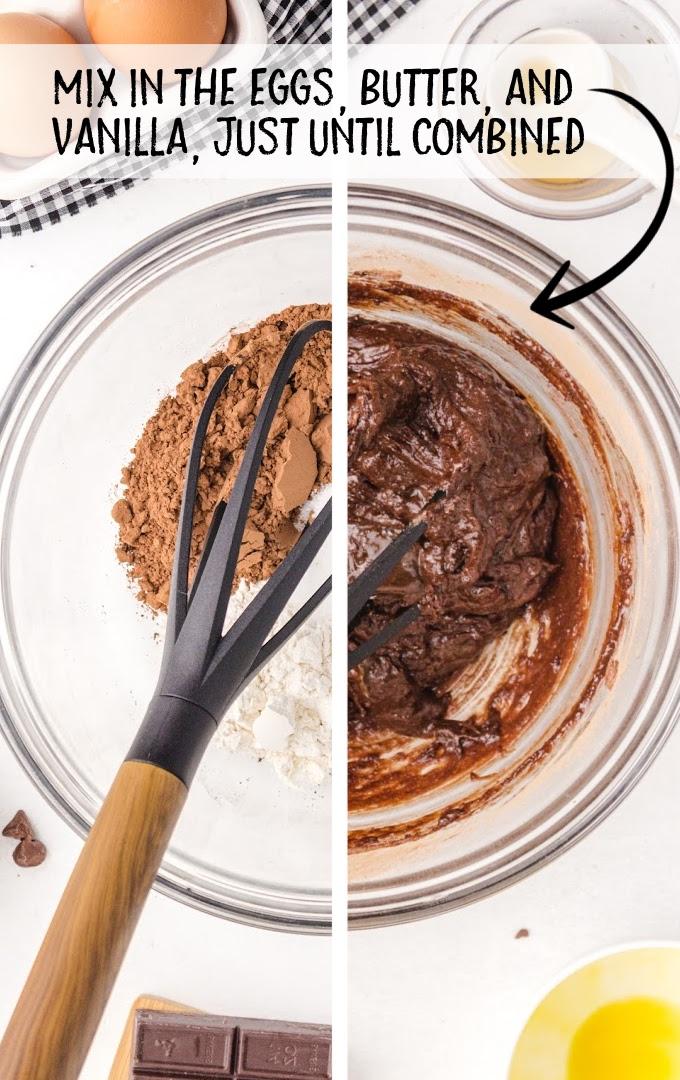 mississippi mud pie process shot