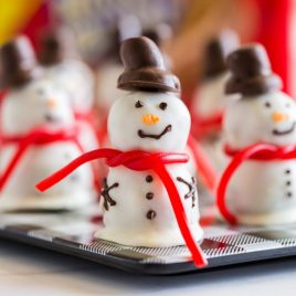 Snowmen Truffles