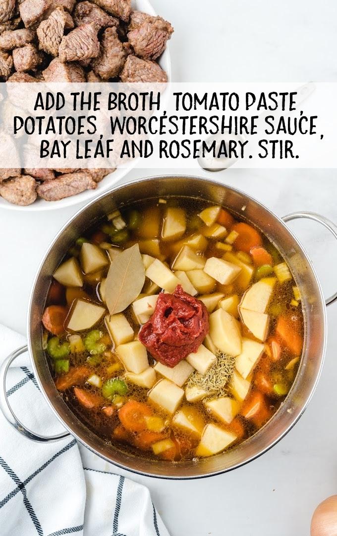 beef stew process shot