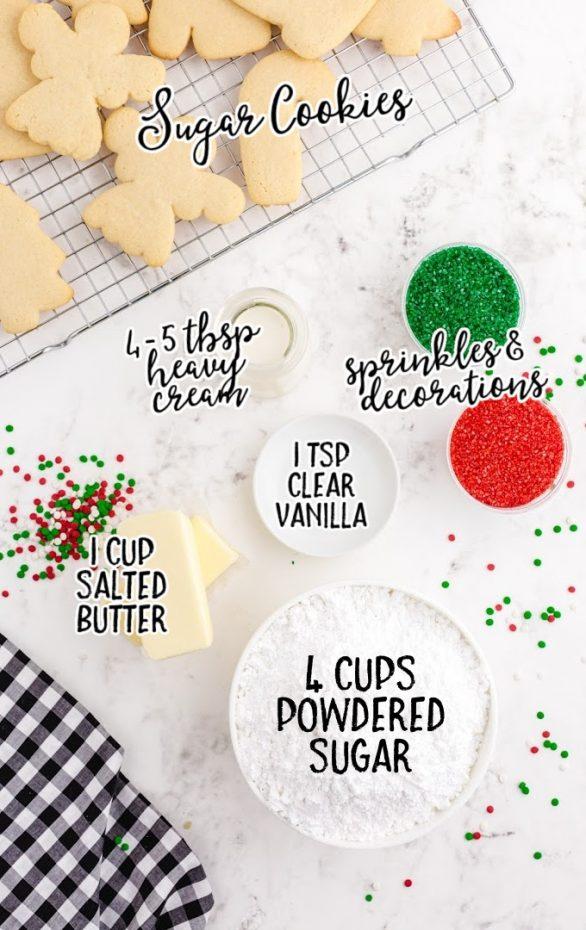 Sugar Cookie and Sprinkles