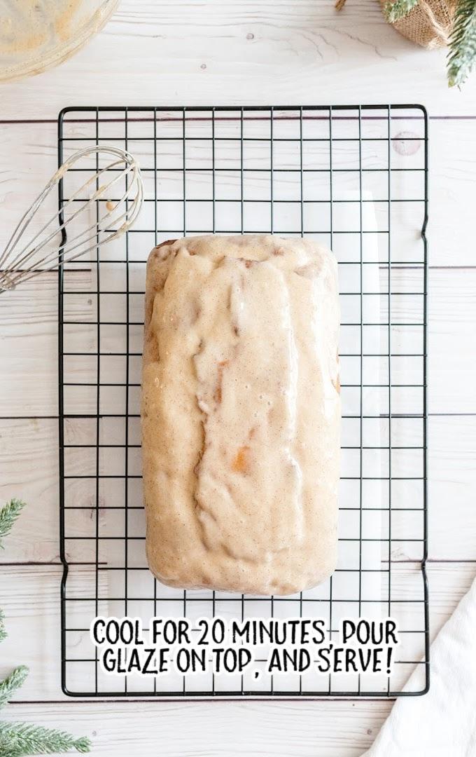 eggnog bread process shot