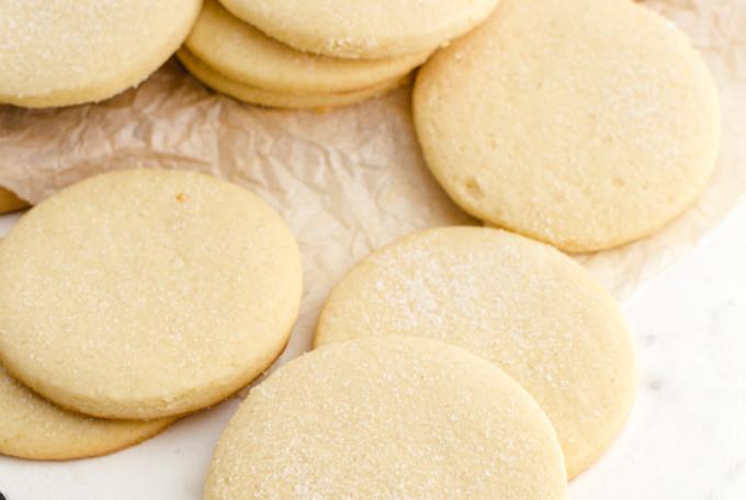 no spread sugar cookies