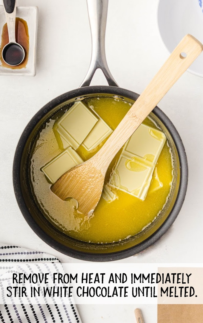 eggnog fudge process shot