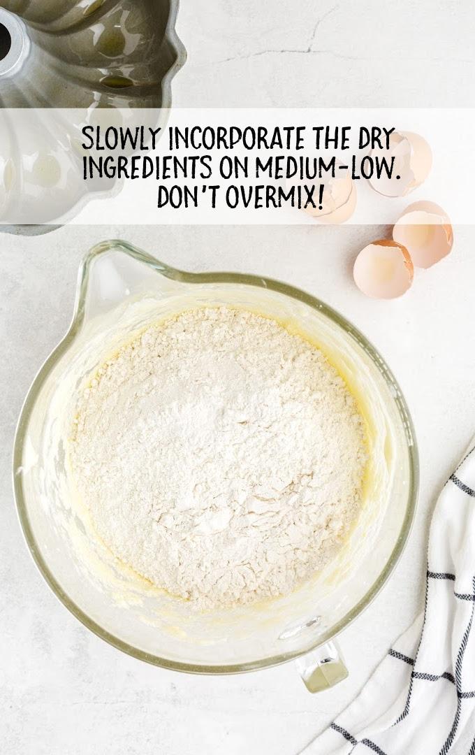 kentucky butter cake process shot