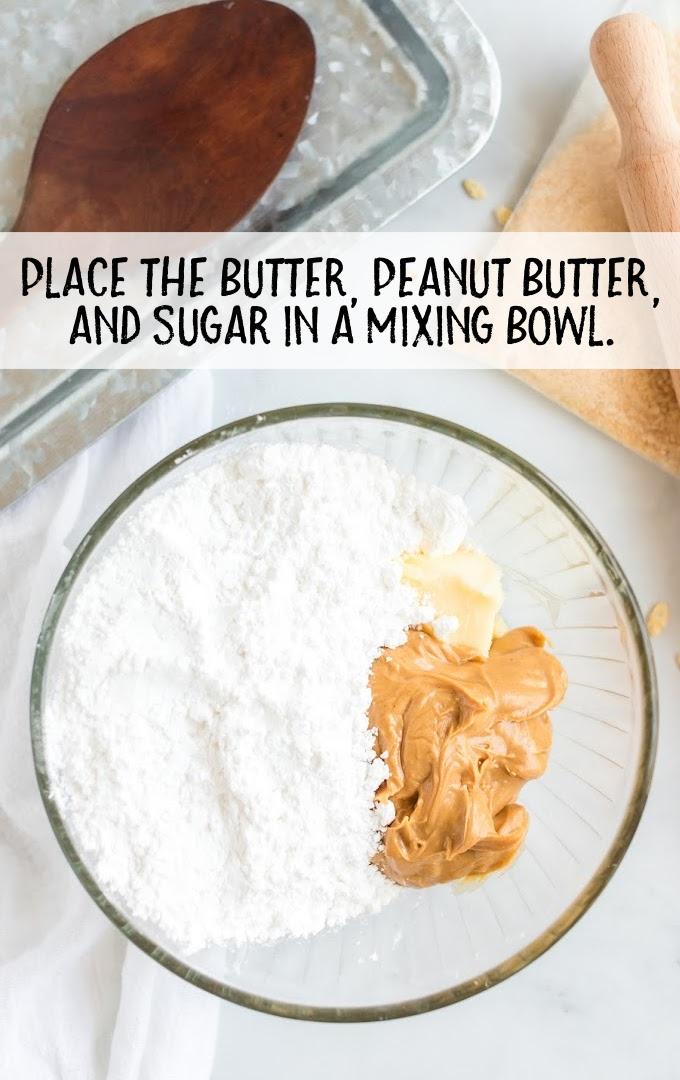 peanut butter balls process shot